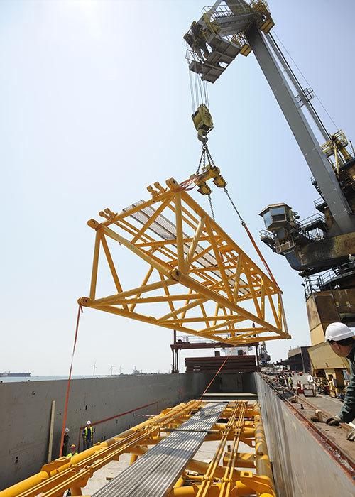 Heavy lift / Industrial project